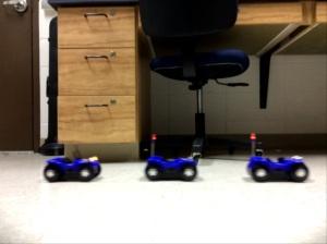 Blue Buggy 40 cm per sec