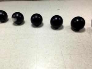 Bowling ball in Motion Shot