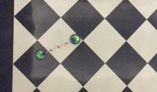 Linked hover disks; from video by Kaar, Pollack, Lerner, & Engles